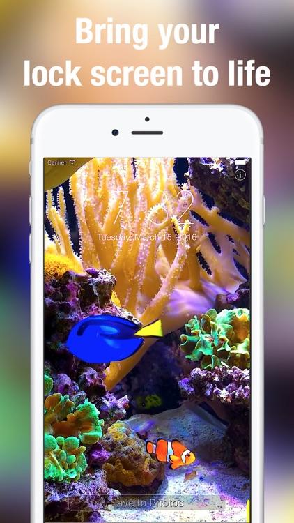 Aquarium Moving Wallpapers+