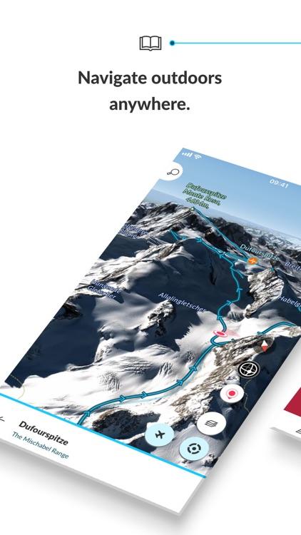 FATMAP: Ski, Bike & Hike Guide screenshot-0
