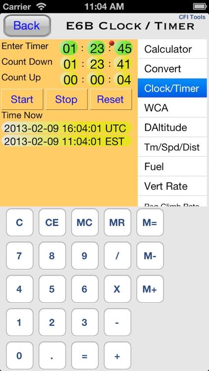 CFI Tools General Aviation screenshot-4