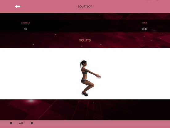 Buttocks Workout - Squat Bot screenshot 9