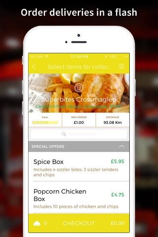 Superbites App - náhled