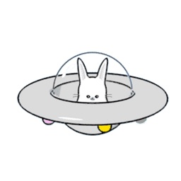 Space Bunny Animated