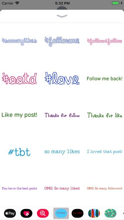 Social Media Sticker Pack