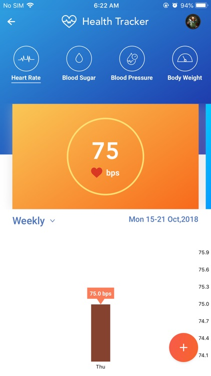 YourHealthWallet: Fitness App screenshot-3