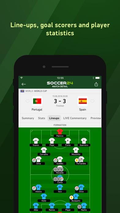 download Soccer 24 - soccer live scores apps 4