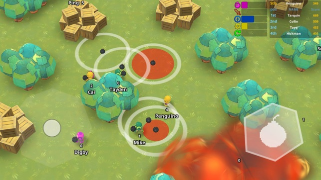 Bomb.io Royale Battlegrounds, game for IOS