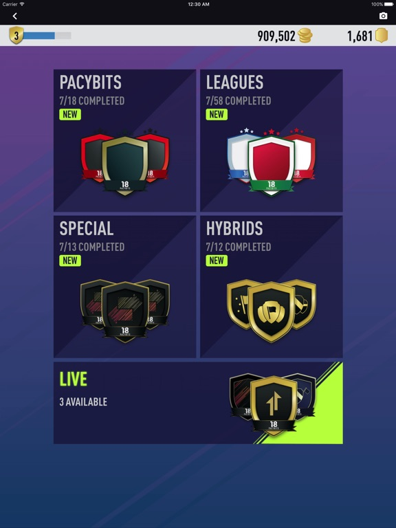 FUT 18 PACK OPENER by PacyBits Скриншоты9