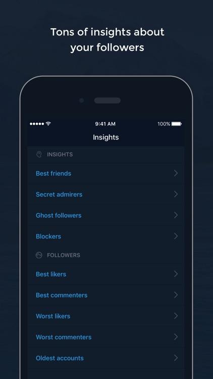 Followers & Likes Tracker screenshot-3