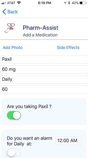 Paxil dosage