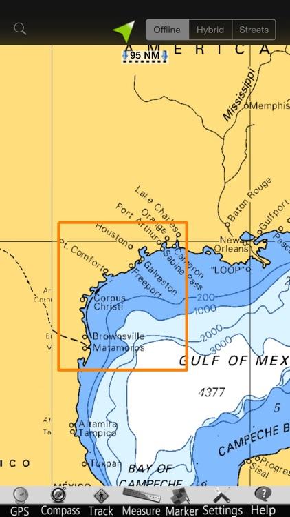 Texas GPS Nautical Charts screenshot-4