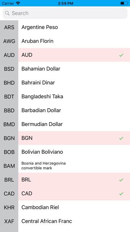 All Currency Converter app screenshot-4