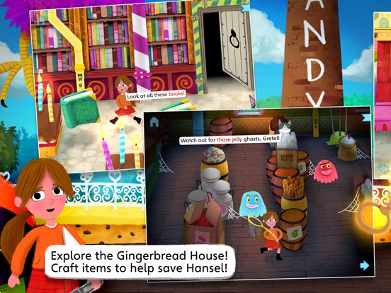 Hansel and Gretel by Nosy Crow screenshot 9