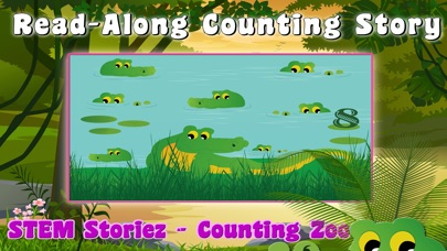 STEM Storiez-Counting Zoo EDU screenshot 1