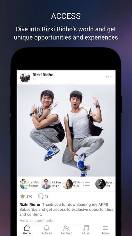 Rizki Ridho Official App
