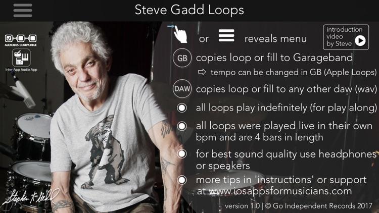 Steve Gadd Drum Loops screenshot-0