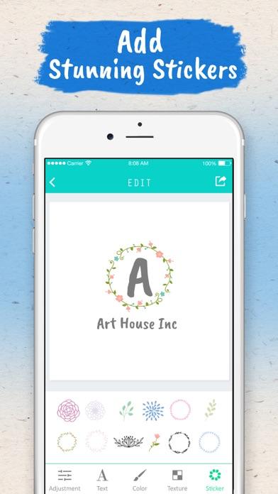 Screenshot #9 for Logo Maker - Logo Creator .