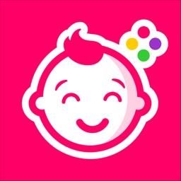 Giggly- baby bump pics editor