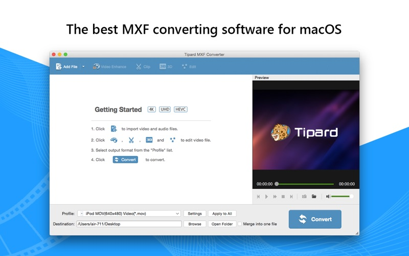 MXF 格式转换软 Tipard MXF Converter