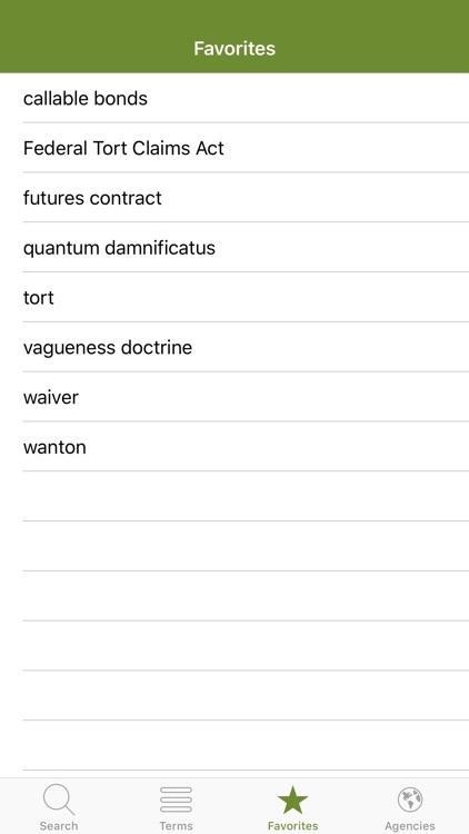 Gilbert Law Dictionary screenshot-3
