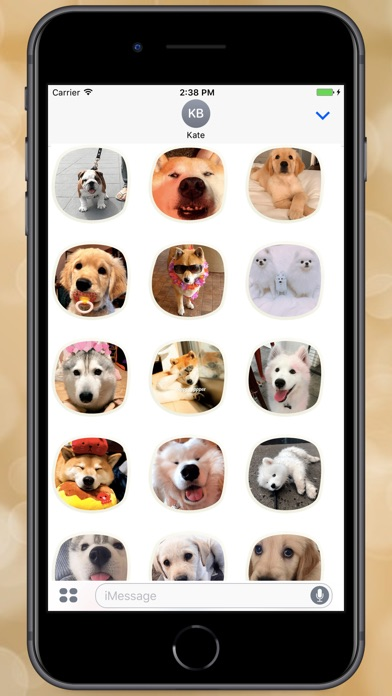 Screenshot for The Sweeetest Dogs Stickers in Colombia App Store