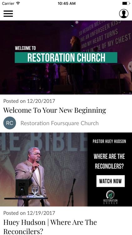 Restoration Church screenshot-3