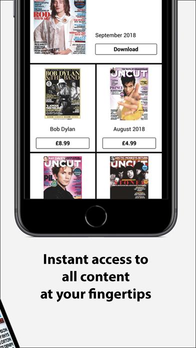 Uncut Magazine UK screenshot two
