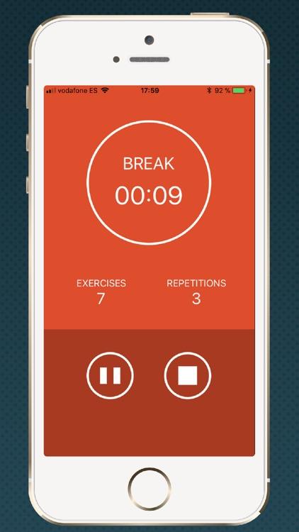 HIIT timer chronometer gym screenshot-3