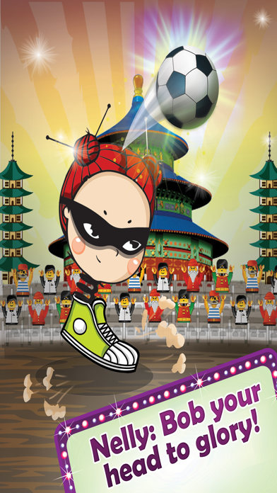 Bobbing Ninja Head Soccer Pro Screenshot 3