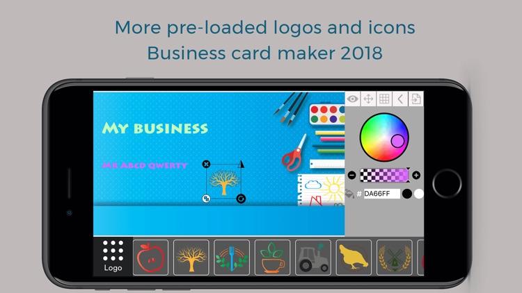 Custom Business Card Maker screenshot-3