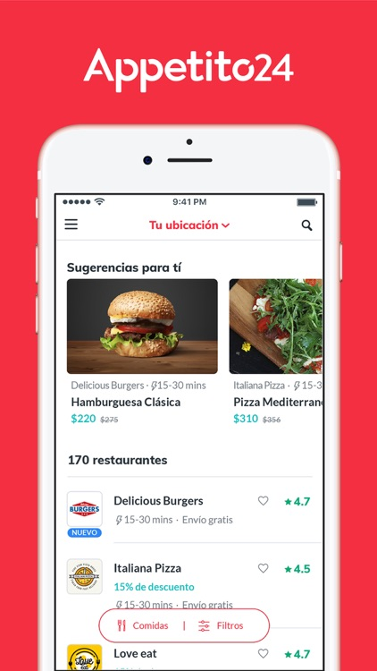 Appetito24 - Food Delivery screenshot-4