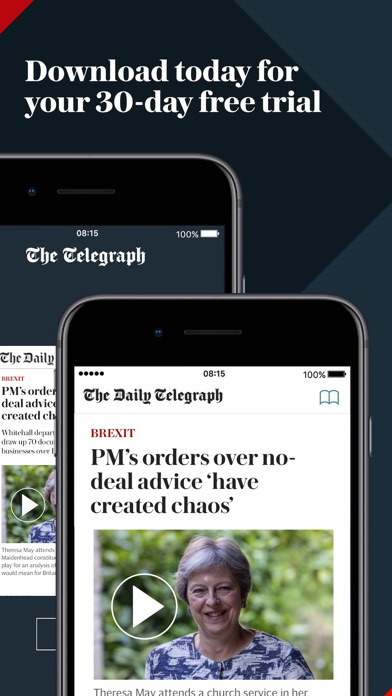 Telegraph Newspaper Edition review screenshots