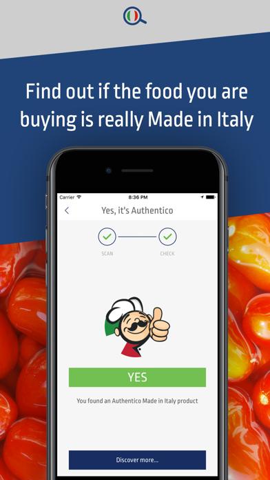 Authentico I love Italian food screenshot one
