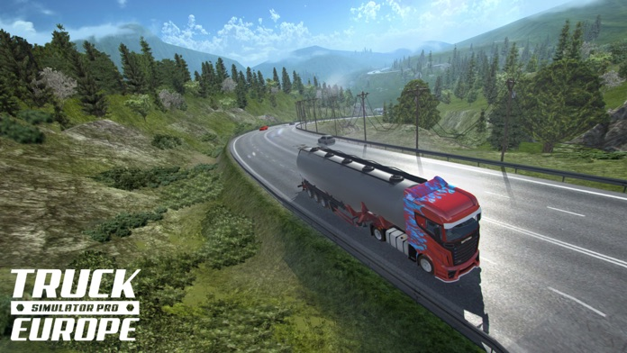 Truck Simulator PRO Europe Screenshot