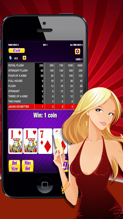 Adult Strip Poker screenshot1