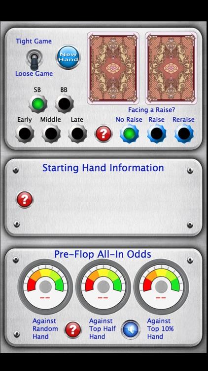 Starting Hand Dashboard screenshot-3