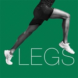Leg workout HIIT training wod