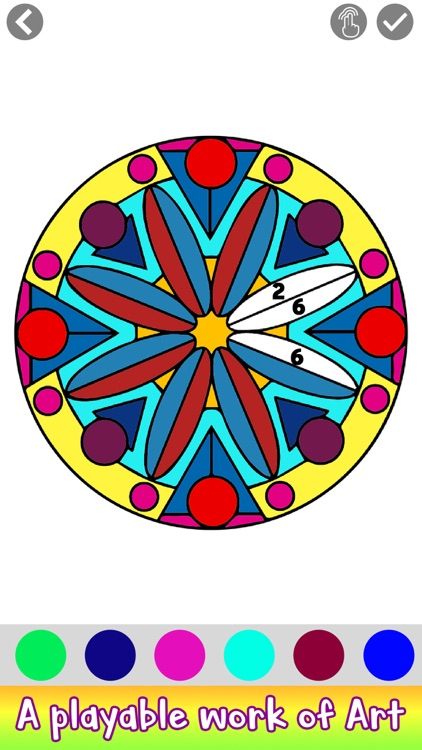 Adult Coloring by Number Book screenshot-7