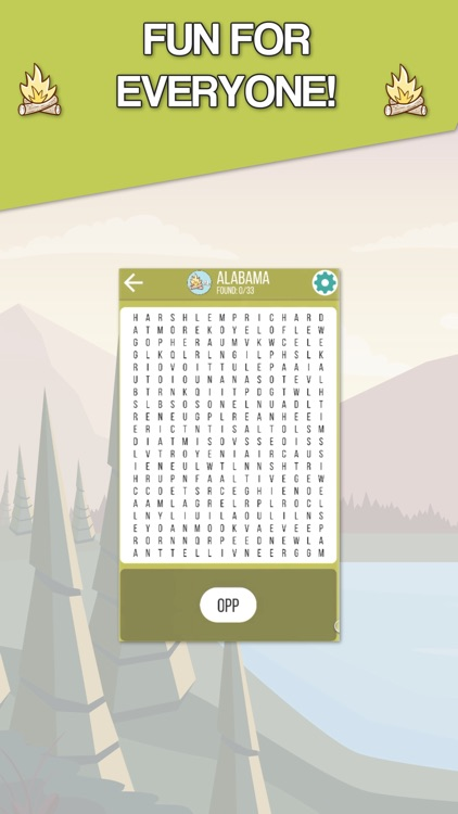 Camping Fun - Word Search screenshot-4