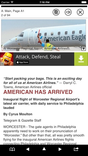 Worcester T&G on the App Store