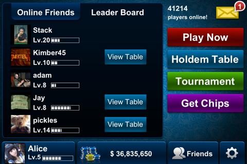 Texas Holdem Poker - náhled