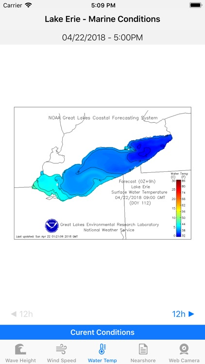 Lake Erie - Marine Conditions screenshot-2