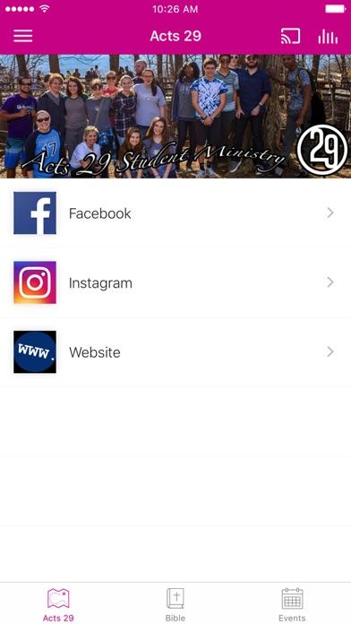 Acts 29 Students screenshot 1