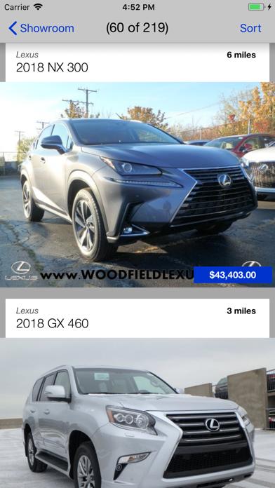 Woodfield Lexus DealerApp screenshot two