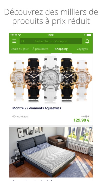 Screenshot for Groupon in France App Store