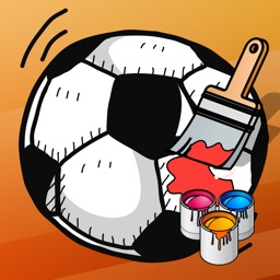 Coloring Book of Soccer for Children: Learn to color the world of football