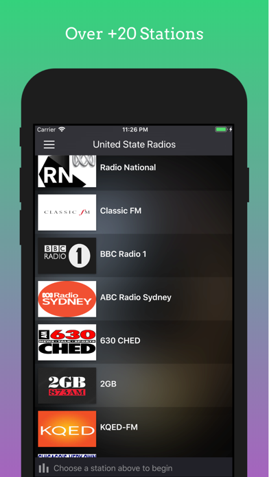 United State Radios Stations screenshot four