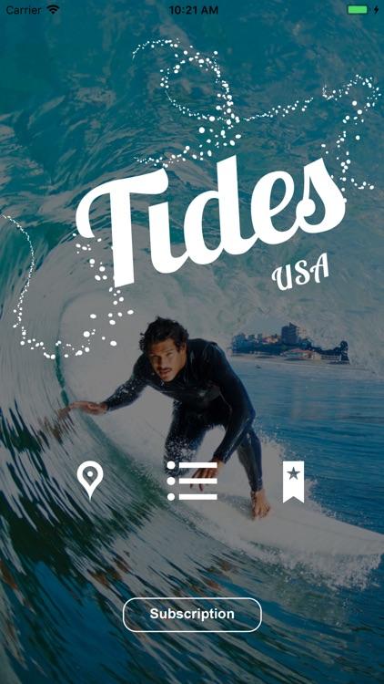 Tides USA:Tide Predictions