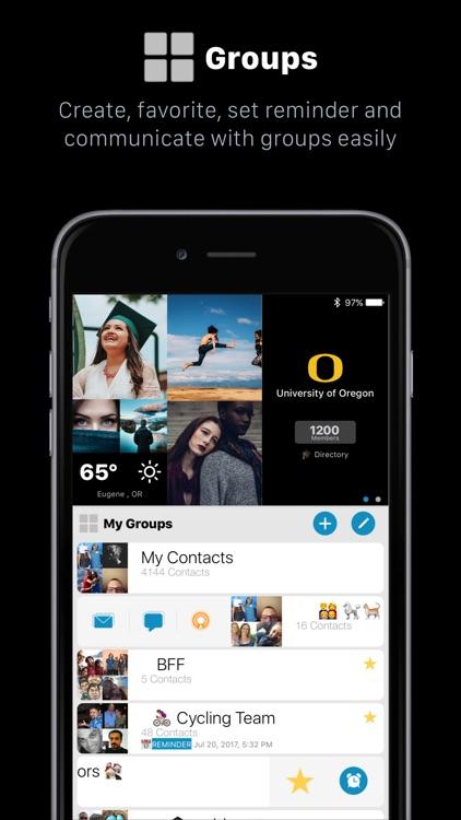 addappt: Live Contacts+Weather screenshot-3
