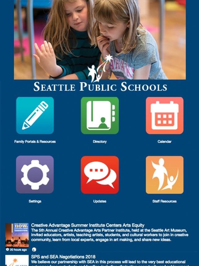 Seattle Public Schools On The App Store
