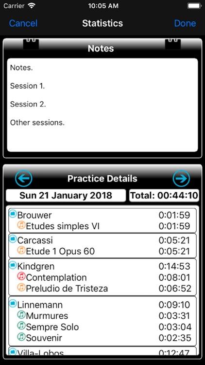 Music Practice Notebook screenshot-3